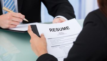 The Steps Involved In Making A Resume Effective